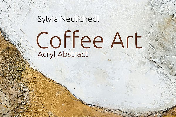 Coffee Art Acryl abstrakt